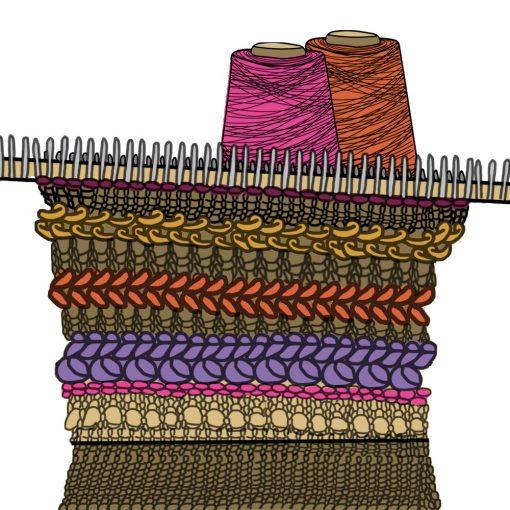 Intermediate Machine Knitting V3